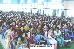 Students of Ganambica College